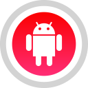 media, android, logo, social icon