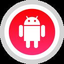 media, android, logo, social icon