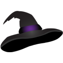 witch, hat icon