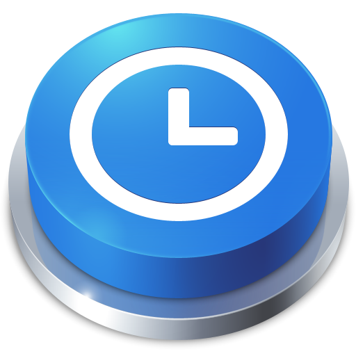 history, time, perspective, button icon