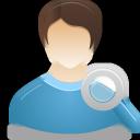 user, search, male icon
