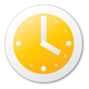 alarm, clock, alarm clock, time, yellow, history icon