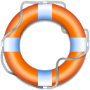 lifeguard, help, support, insurance icon