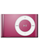 ipod,shuffle,red icon