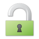 Green, Lock, Unlock icon