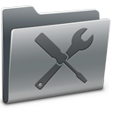 utility, folder icon