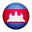 country, cambodia, flag icon