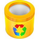 empty,recycle,bin icon