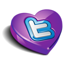 valentine's day, heart, twitter, favorite, bookmark, love icon