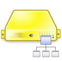 server,directory,yellow icon