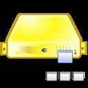 server,directory,yellow icon