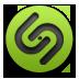 Green, Shazam icon