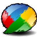 google, artistic, buzz, google buzz icon