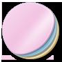 Round, Stickers icon