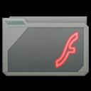 folder adobe flash alt icon