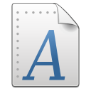 Application, Font, Gnome, Mime, Ttf, x icon