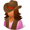Historical Cowgirl icon