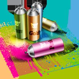 spray, lv, artdesigner icon