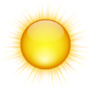 Status weather clear icon