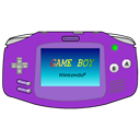 Advance, Gameboy, , Purple icon