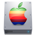 hdd, hard disk, apple, hard drive icon