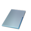 Documents ferme bleu icon