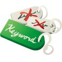 best, choose, keywords icon