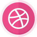 social networking, online portfolio, web designer, dribbble logo, graphic designer, dribbble, creative icon