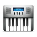 keyboard, midi, audio icon