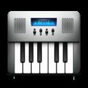 keyboard, midi, audio icon