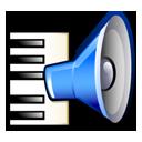music, speaker, keyboard, sound icon