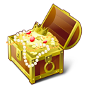 Chest, Gold icon