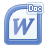 word, document, file icon
