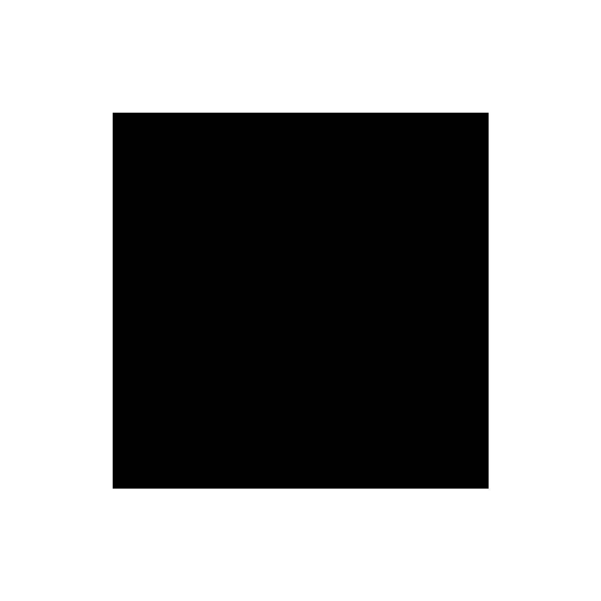 facebook, black icon
