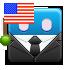 patriot, america, nationalism, election, american flag icon