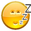 asleep, face icon