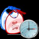 Bib, Clock icon