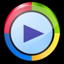 window, player, media icon