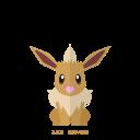 pokemon, kanto, eevee, normal icon