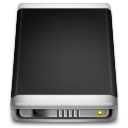 Internal Drive black icon