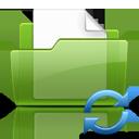 Folder, Refresh icon