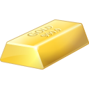 gold, bullion icon