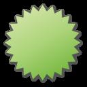 green, label icon