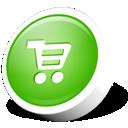 Commerce, texto, Webdev icon