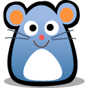 Optical mouse icon
