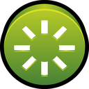 spark, power, restart icon