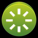 spark, power, restart icon