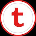 media, social, tumblr, logo, brand icon