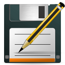 save, as, document icon