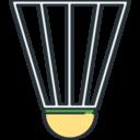 Sports Shuttlecock icon